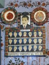 Propagandaalster åt centralkommittén, förstås inte komplett utan Elena Ceausescu.
