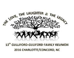 13th Gulliford=Guliford Family Reunion CharlotteConcord