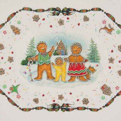 A gingerbread christmas por Lynn Bywaters