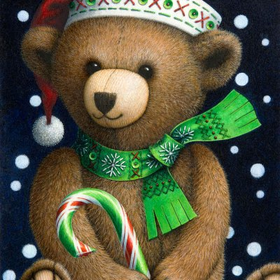 Big teddy por Lynn Bywaters