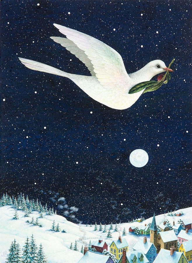 Christmas dove por Lynn Bywaters