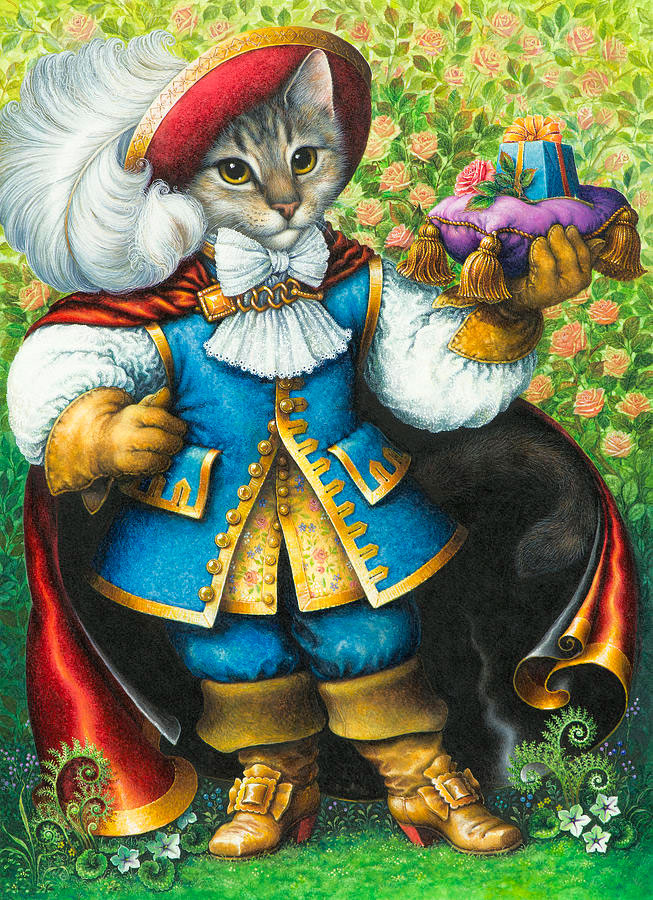 Puss in boots por Lynn Bywaters