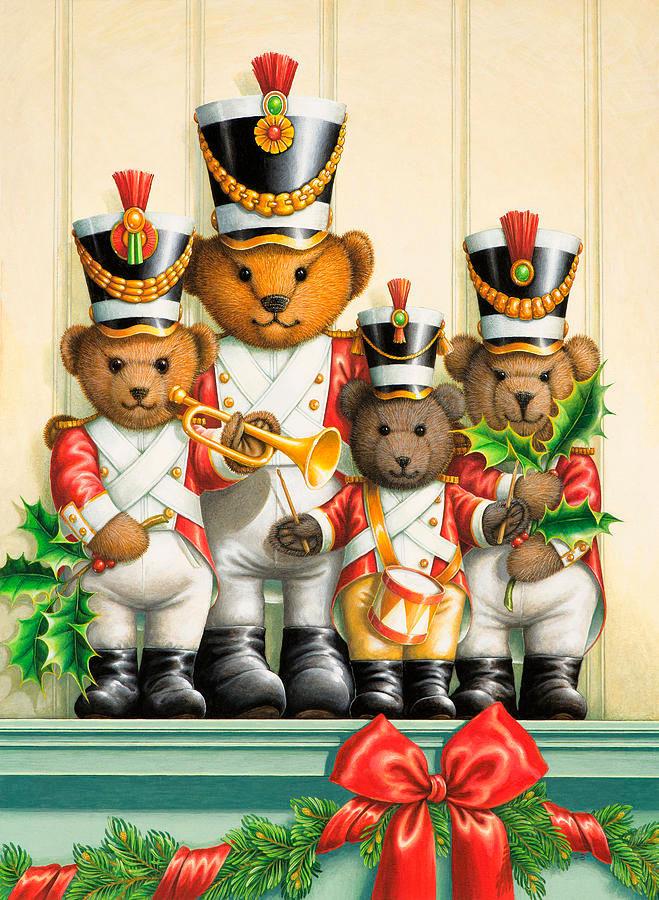 Teddy bear band por Lynn Bywaters