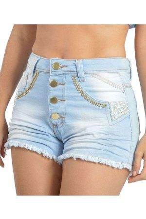 Short Hot Pant Jeans S155 - DK-S155-01