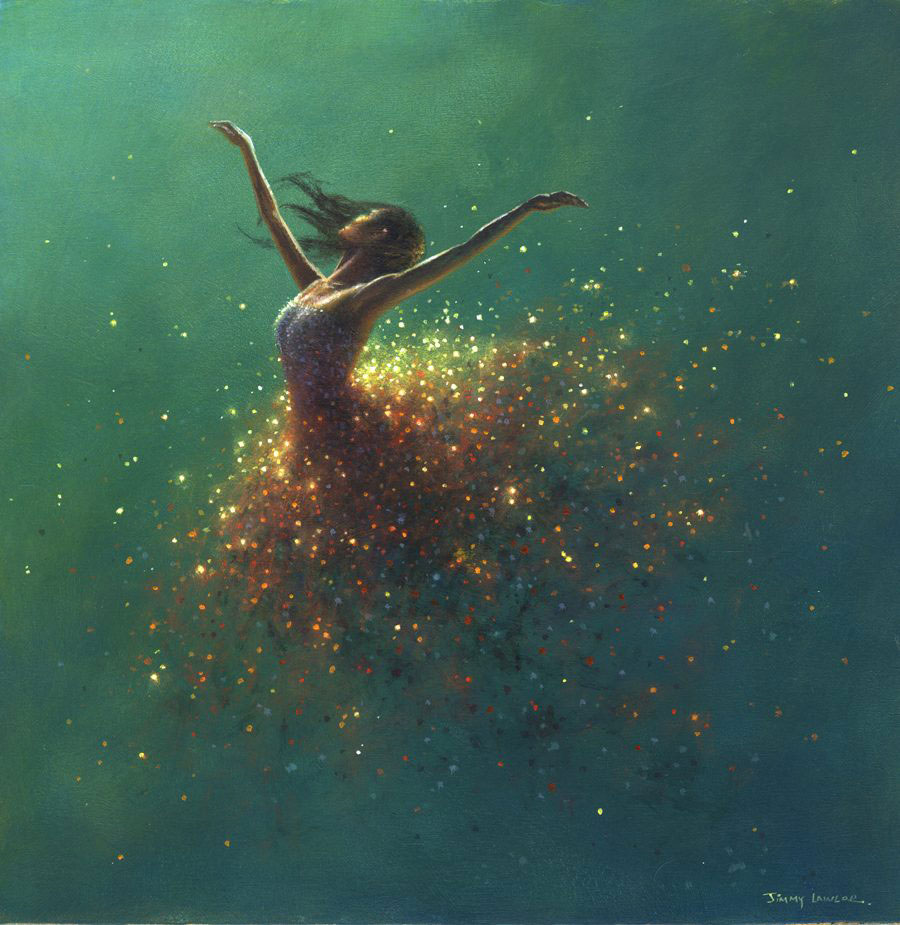 Morning Sparkle by Jimmy Lawlor