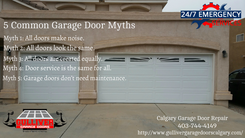 5 Common Garage Door Myths  Garage Door Repair Calgary