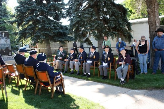 Gull Lake Celebrates Liberation Day GULL LAKE  Gull Lake Legion Events Community