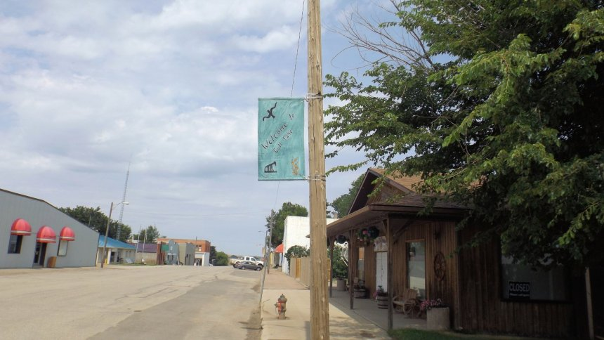 Street Banner Photo Contest GULL LAKE Town Beautification  Communities in Bloom