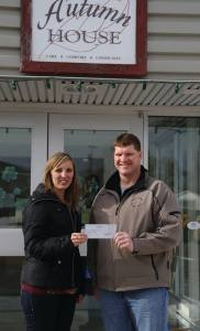 Gull Lake Elks Donate $500 to Autumn House Independent Living Facility GULL LAKE Health & Wellness  Gull Lake Elks Community Autumn House Independent Living Facility