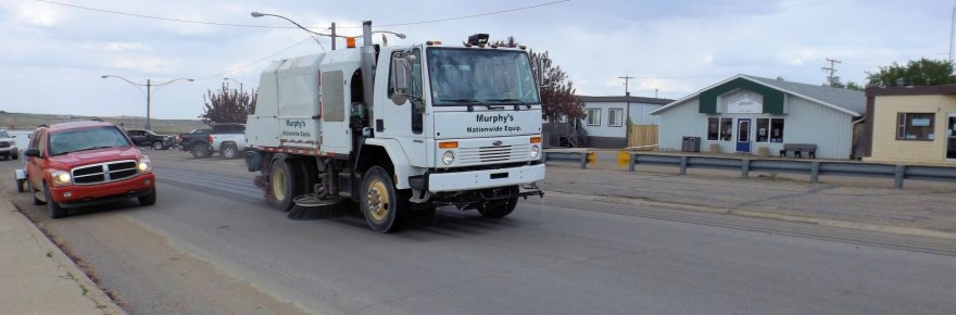Fall Street Sweeping October 12th and 13th GULL LAKE Town Beautification