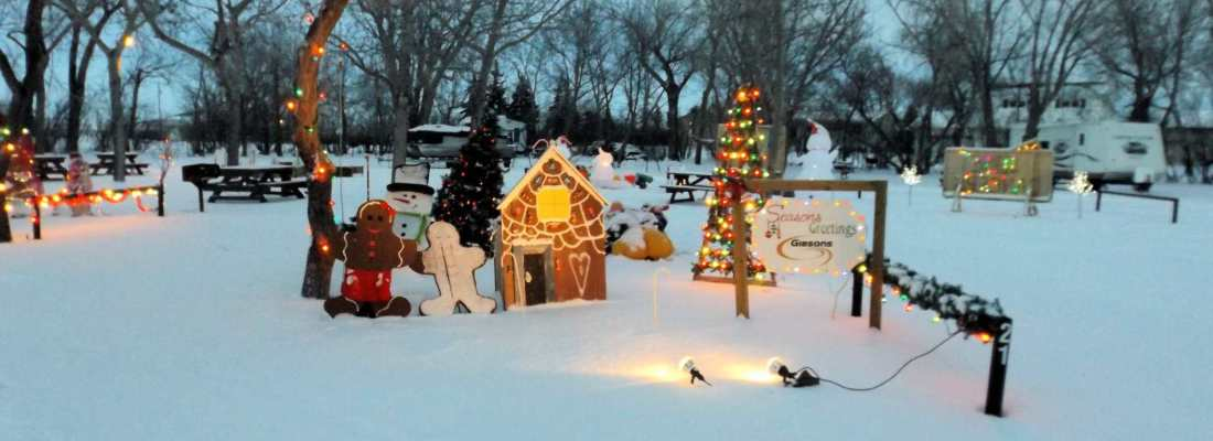 Book Your Christmas Cove 2018 Site Today GULL LAKE Tourism  Christmas Cove Campground