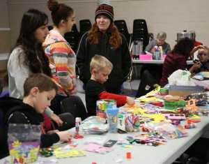 Winterfest 2016 Craft Table