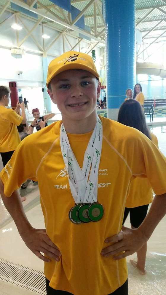 Quinn Mittelholtz Brings Home Gold Medals GULL LAKE SouthWest Saskatchewan  Community