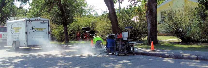Sidewalk Trip Hazard Repairs Underway GULL LAKE  Mayor's Report