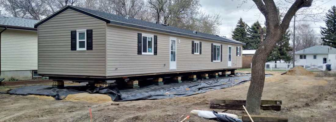 New Home on Kings Avenue GULL LAKE  Mayor's Report Housing Community