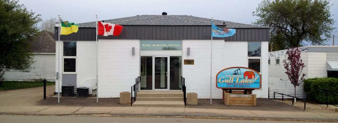 RM of Gull Lake Office Gets a New Roof GULL LAKE Town Beautification  RM of Gull Lake Community