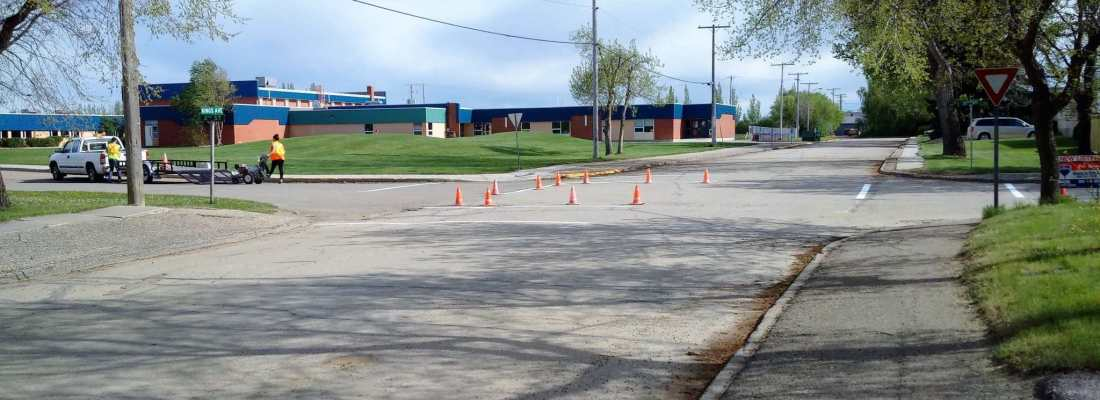 Town Council Authorizes Crosswalk Painting at School Street Crossings Government GULL LAKE  Town Council Mayor's Report Gull Lake School Community