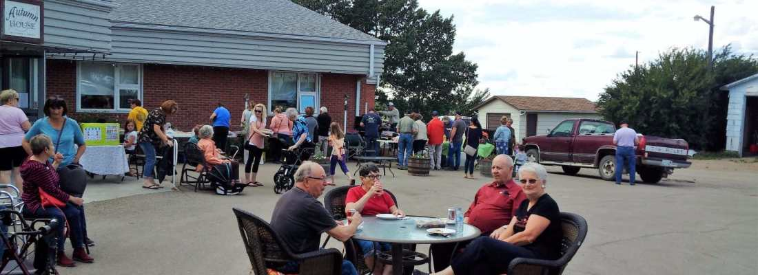 Autumn House Bar-b-que & Bake Sale GULL LAKE Health & Wellness  Events Community Autumn House Independent Living Facility