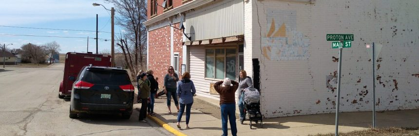 Economic Development Committee Tours Downtown Buildings Business Economic Development GULL LAKE  Mayor's Report Economic Development Committee