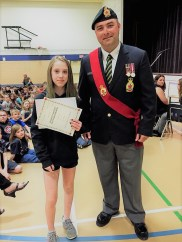 Royal Canadian Legion Poster and Literary Contest Winners Education GULL LAKE  Gull Lake School Gull Lake Legion Community