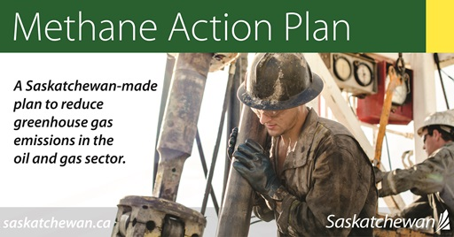 Saskatchewan Enacts Regulations With Goal To Reduce Methane Emissions By 4.5 Million Tonnes Annually Government Oil & Gas SouthWest Saskatchewan  Saskatchewan Oil & Gas Production Government of Saskatchewan Environment