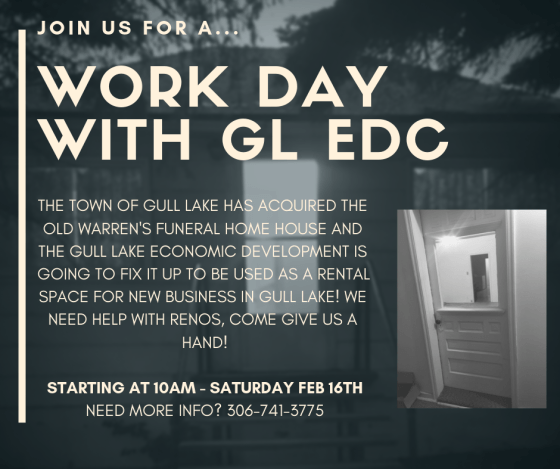 Gull Lake EDC Looking For Volunteers to Help Renovate Funeral Home Economic Development GULL LAKE  Warrens Funeral Home Community