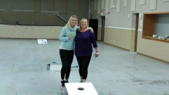 Jerry and Dawnette Peterson Take 1st Place in Cornhole Tournament GULL LAKE  Recreation Advisory Committee Community