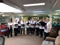 "Autumn House Thanks Auxiliary for Organizing ""Mothers Day Tea"" GULL LAKE Health & Wellness  Autumn House Independent Living Facility"