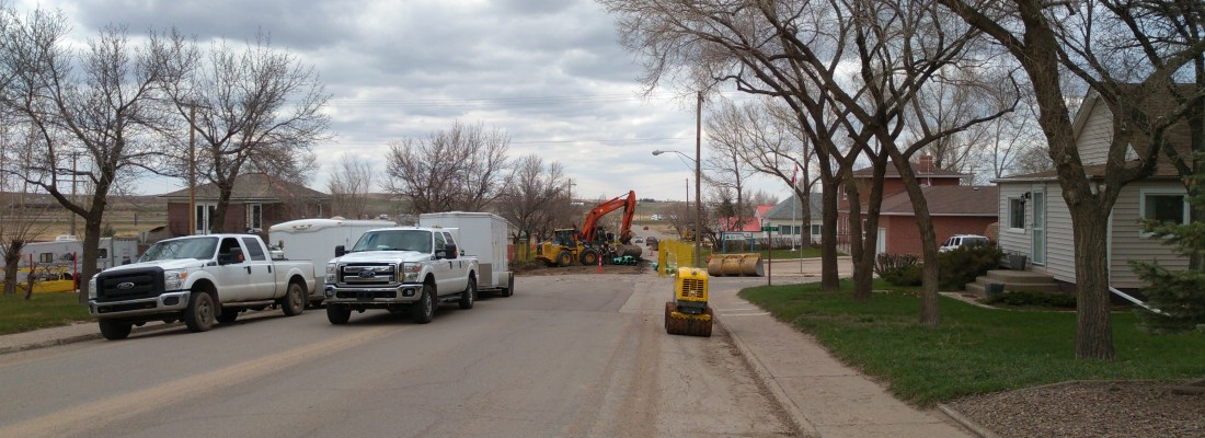 Rutland Avenue Sewer Main Repairs Underway SouthWest Saskatchewan  Infrastructure