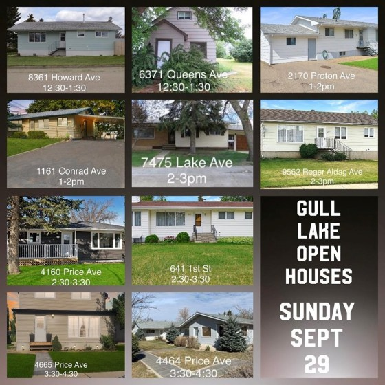 Gull Lake Open Houses GULL LAKE  Community