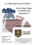 "LIONS ""FRIDAY NIGHT LIGHTS"" FOOTBALL GAME"