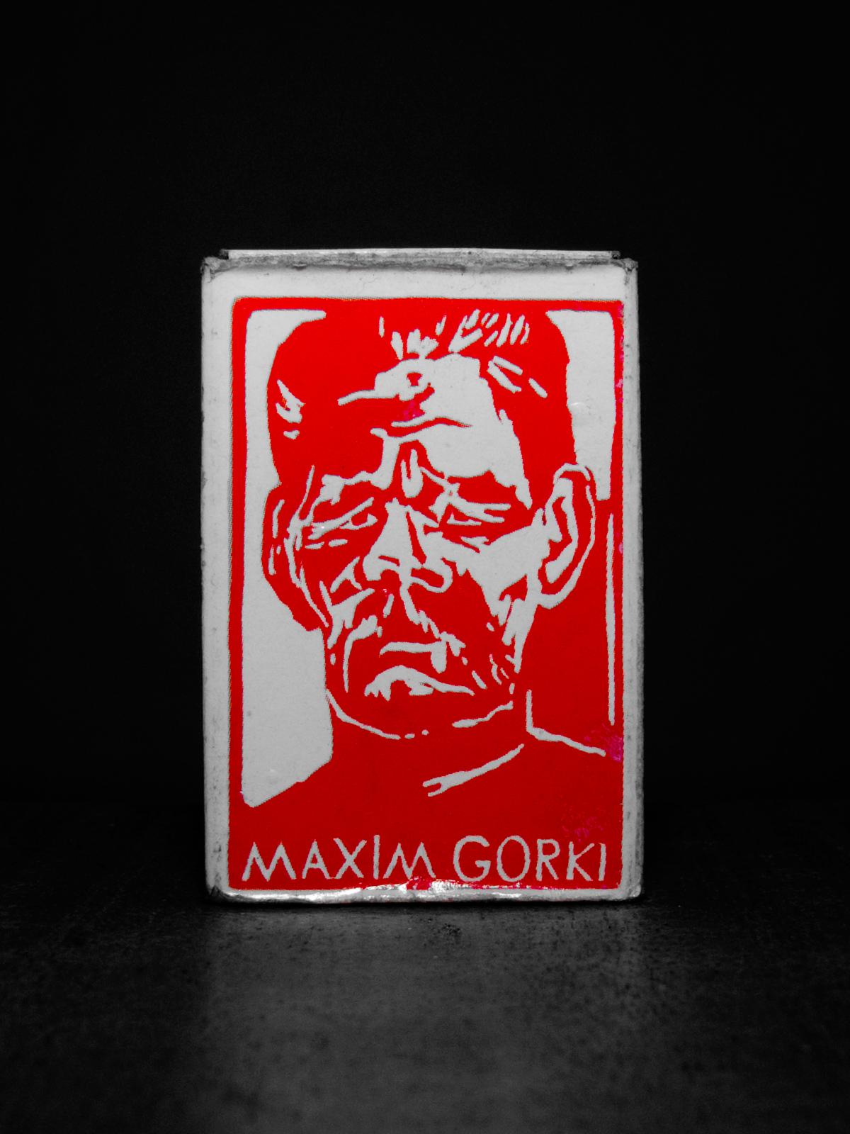 """(Gorkij betyder """"den bittre"""" för er okunniga)"""
