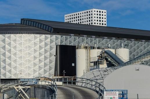 Nationalarenans egna betongfabrik