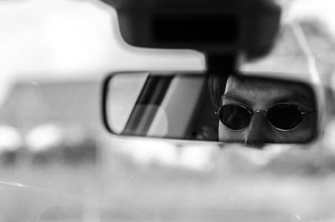 Min fokuserade chaufför