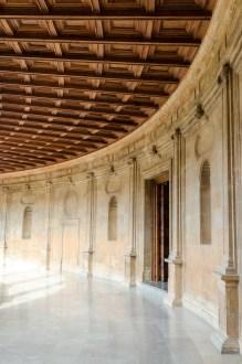 Andra våningen Palacio de Carlos V