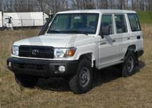 Toyota Landcruiser HZJ76 Vehicles Tax Free