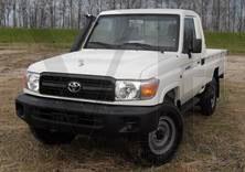 Toyota Landcruiser HZJ79 Blanco Pick Up Vehiclestaxfree