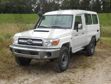 Toyota Landcruiser VDJ78 Vehicles Tax Free