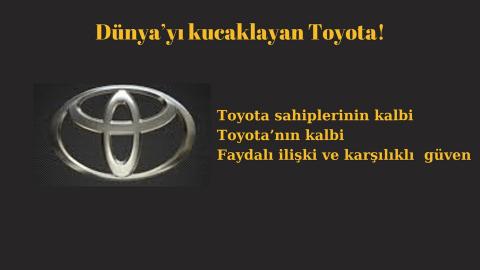 Toyota tarihi ile anlam bulan Toyota logosunun anlamı