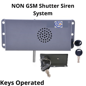 gsm shutter security system