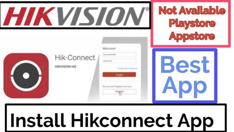 hik-connect app install