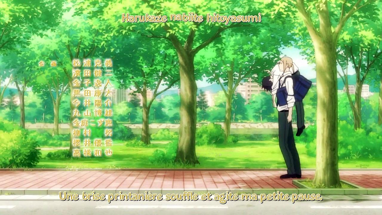 tanaka-kun wa itsumo kedaruge serien stream