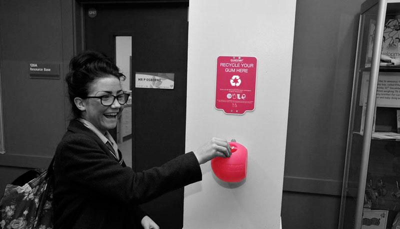 Swansea Council Sponsor Gumdrop Bins for 15 Schools  Gumdrop