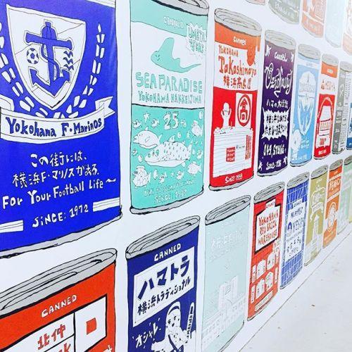 *「横浜の、後世にのこしたい99のヒトモノコト」YOKOHAMA HOZONHOZONの99の缶アート。横浜シャル下。------------------#東急田園都市線#青葉台 駅よりすぐ#リラクゼーションサロンGUMI#タイ古式マッサージ#タイ式リフレクソロジー#ヘッドセラピー#タイ式 × #アロマ #タイ雑貨 #のんびり #サロン#マッサージ#横浜 西口 #仮囲い#art #design #project#simple #interior #therapist#🇹🇭 #thai #pug