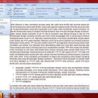 cara membuat  footnote di 0ffice 2007 / catatan kaki