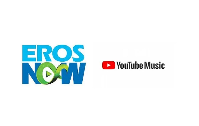 Image result for Eros Now partners with YouTube music; launches Rs 99 pack