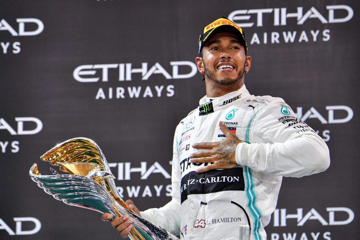 Lewis Hamilton Produces A Master Class