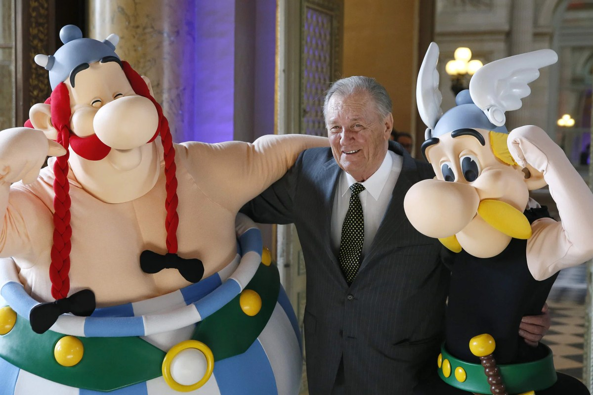 Albert Uderzo The Creator And Destroyer Of The Asterix Comics