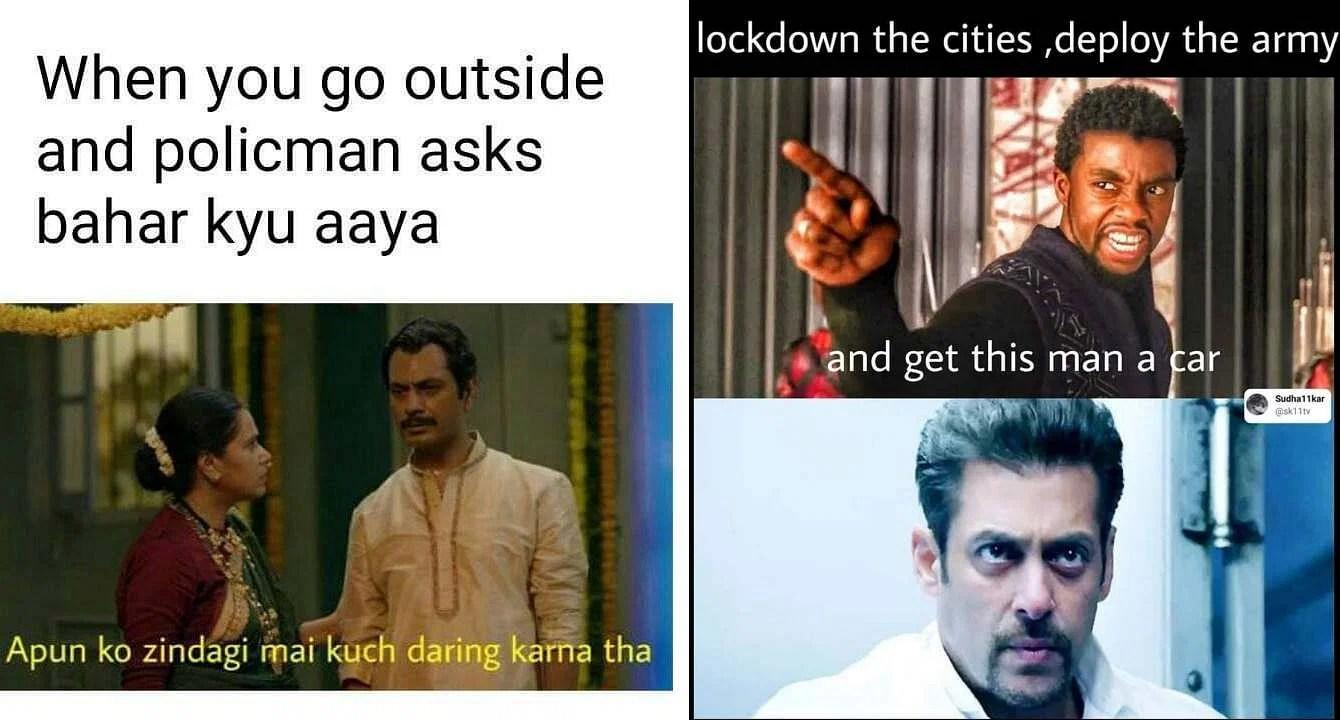 Corona Lockdown Fat Meme