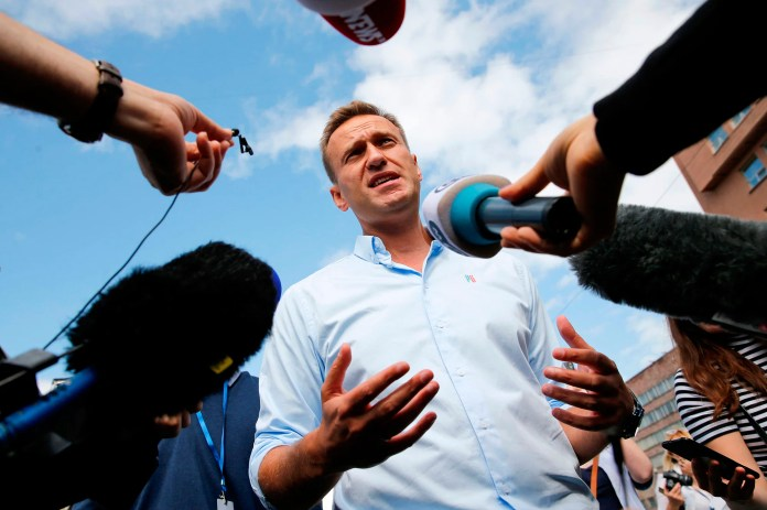 Russia blocks medical evacuation of Putin's foe Alexei Navalny